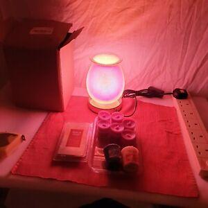 Wax Melt Warmer Electric Wax Melter GLASS  + BUNDLE + YANKEE MELT+++