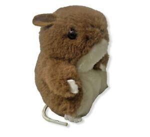 "CUTE Vintage 1980 Dakin Gerbil 5"" Plush Toy Stuffed Animal Mouse Rodent Rat"