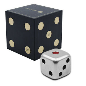 Collectable 3 Dimensional 2oz Silver Dice Coin 2021 $5 Dollars Limited Edition
