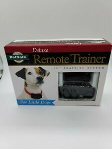New PetSafe Deluxe Remote Trainer for Little Dogs  PDLDT-305