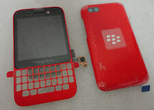 BlackBerry Q5 LCD Red Screen & Digitizer Assembly+Battery Door