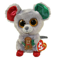 TY Beanie Boos - MAC the Mouse (Glitter Eyes) (6 inch) - MWMTs Boo