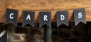 Vintage Style Handmade Personalised Card Bunting Wedding Birthday Party £1 Each