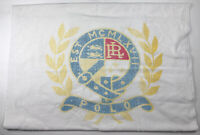 "RALPH LAUREN Vintage Beach TOWEL POLO Crest Made in USA Flag sweater 35.5""X66"""