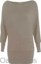 Magliette da donna grigi manica lunghi Taglia 44