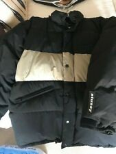Rare collectible Stussy jacket Black and cream (Size Large) Hardly worn