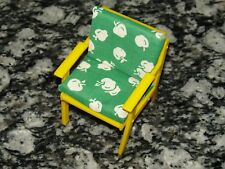 Vintage Barbie Chair w/Cushions