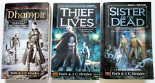Books 1, 2, 3, SAGA OF THE NOBLE DEAD - Barb & JC Hendee
