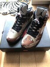 Supreme x Nike Jordan 5 , Camo Desert  , Size 10