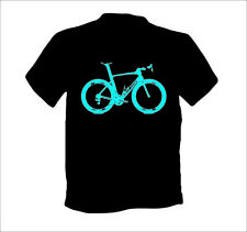 Specialized s-works Venge vías di2 carbon bicicleta de carreras t-shirt azul