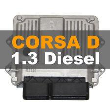 Opel / Vauxhall Corsa D 1.3 Motorsteuergerät ECU 55198930 CN Z13DTJ MJD6O3
