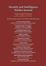 NEW Security and Intelligence Studies Journal: Volume 1 Number 3