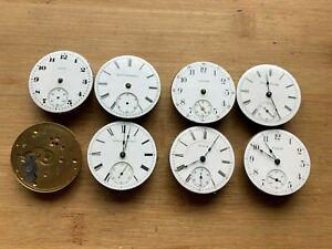 Elgin & Waltham 18s  Pocket Watch Movement Lot