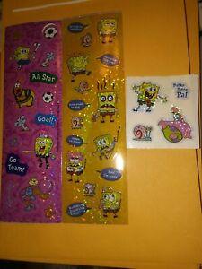 SpongeBob SquarePants Sandylion Stickers 2 strips 1 mod