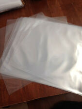 "RECORD  SUPPLIES, CLEAR POLY OUTER JACKET COVERS 12"" for LP's 33s"