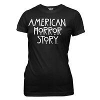 American Horror Story Logo Ladies Junior T-Shirt