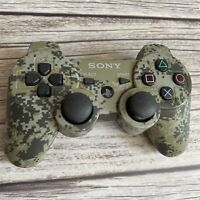 Sony PS3 DualShock 3 Wireless Controller Urban Camo Tested OEM PlayStation 3