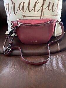 NWT Nine West Waist Belt Fanny Pack Bag Purse Pouch Claret