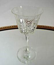 Glas Weinglas Kelchglas geschliffen Kristall optisch geblasen 30 Jahre