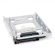 """2.5"""" SSD SAS to 3.5"""" SATA Hard Disk Drive HDD Converter Adapter Bay Bracket"""