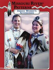Missouri River Native American Indian Women's Accessories, Bags Sewing Pattern