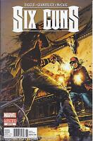 Six Guns Comic Issue 2 Limited Series Modern Age First Print 2012 Diggle Mccaig