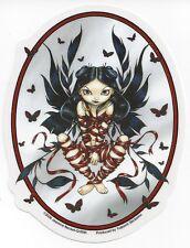 Dark Ribbon Fairy Sticker Car Decal Jasmine Becket-Griffith Strangeling faerie
