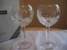 WATERFORD CRYSTAL  MILLENNIUM PEACE GOBLETS MIB