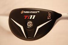 NEW mens WHITE Hybird Golf Clubs taylor fit custom made #5 CLUB 25° Stiff flex