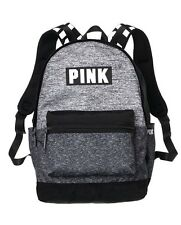 Victorias Secret PINK CAMPUS BACKPACK - Grey Marl - 2017 - NWT