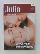 Julia reich und schön Susan Stephens Entführt von einem Prinzen Cora Verlag Buch