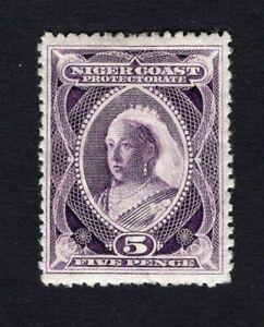 Nigeria Niger Coast Proctorate 1898 stamp SG#70a MH CV=15$