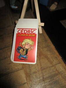 Dupuis&Cauvin&Laudec-Ancien jeu de 54 cartes,CEDRIC-Collector-2002