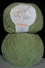 Cotton Acrylic Ggh Samoa Medium Worsted Weight 50 Gr 1 Ball Cozy Green (12P)
