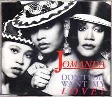 Jomanda - Don't You Want My Love? - CDM - 1990 - House 4TR Cassio Ware Felix