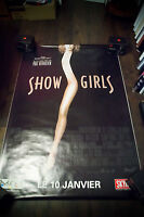 SHOW GIRLS Paul Verhoeven 4x6 ft Bus Shelter Vintage Movie Poster Original 1996