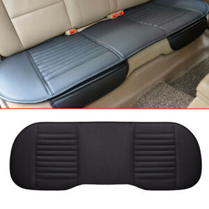 Universal Fit Rear Back Car Seat Cover Protector PU Leather Mat Chair Wiping
