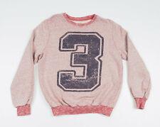 *** ZARA *** Boy's long sleeved crew neck Sweatshirt Size 13/14