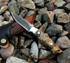 S30V STAINLESS STEEL CUSTOM MADE SKINNER HUNTING KNIFE|THUNDERSTORKE