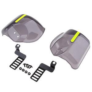 Smoke Hand Guard Wind Deflector Shield Protector For Harley Cruiser Custom