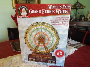 MR. CHRISTMAS WORLD'S FAIR GRAND FERRIS WHEEL NEW IN BOX.