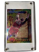 Michael Jordan Rare Finest Moment Baskketball Card Topps 94 95