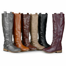 76d73e5e2059 Journee Collection Womens Wide and Extra Wide Calf Riding Boots New