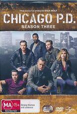 Chicago P. D. Season Three 3 DVD NEW Region 4