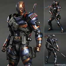 Deathstroke Arkham Origin DC Play Arts Kai Comics Action Figure Statue Model Toy