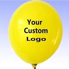 200pcs 10 inch Custom Printed Latex Balloon for Advertising Promotion