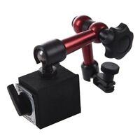Adjustable Magnetic Gauge Stand Base Holder Level Dial Test Indicator B1M8