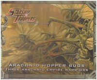 Starship Troopers: Arachnid Hopper Bugs: Miniature Wargame Models Factory Sealed