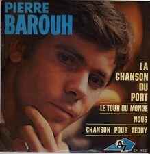 PIERRE BAROUH LA CHANSON DU PORT FRENCH ORIG EP MAURICE VANDER