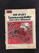 Genuine Oem Yamaha Br 250F Service Manual snowmobile Lit-12618-00-41